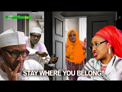 Angry Buhari Locks Wife Aisha In The Kitchen As Punishment For BBC Interview
