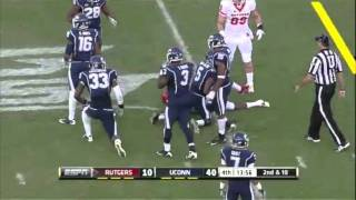 Mohamed Sanu vs Connecticut 2011