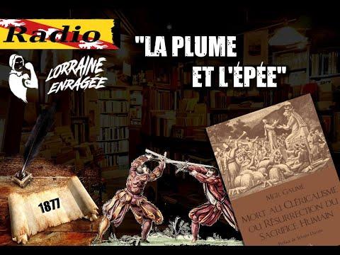 Livre: Mgr Gaume - Mort au Cléricalisme ou Résurrection du Sacrifice Humain- La Plume et l'Épée #2