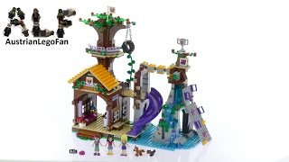 Lego Friends 41122 Adventure Camp Tree House - Lego Speed Build Review