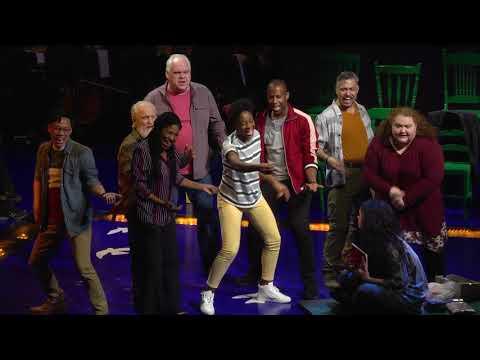 Latoya Edwards and the company performing Yellowstone
