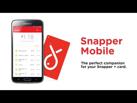 Video of Snapper Mobile