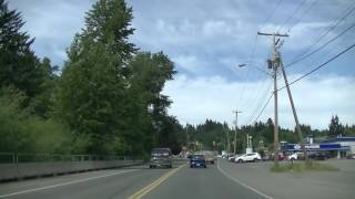 Courtenay (BC) Canada  City new picture : Driving in Courtenay City - British Columbia (BC) Canada - Comox Valley