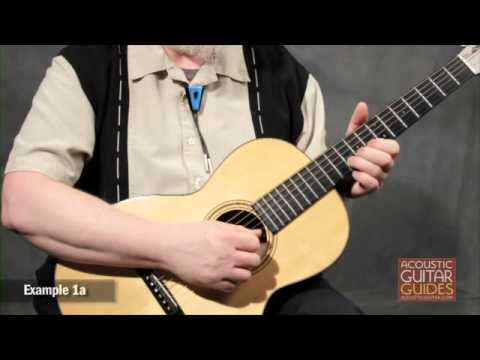 Blues String Bending Lesson from Acoustic Guitar