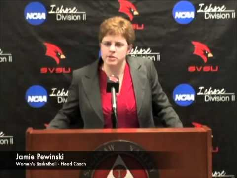 SVSU Announces Hiring Of Jamie Pewinski As Head Women's Basketball Coach