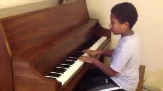 Bergmuller_ Ballade Piano  By Mihret Melaku  (9 Years Old )