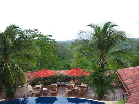 View from Eros Suite @ Los Altos de Eros Luxury Inn and Spa in Costa Rica