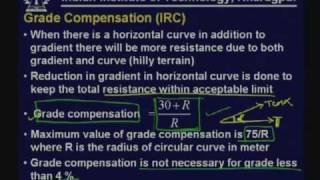 Lecture - 20 Vertical Alignment Part - I