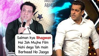Video Govinda Makes FUN Of Salman Khan For Not Giving Any Film After Partner & Not Launching His Daughter MP3, 3GP, MP4, WEBM, AVI, FLV Oktober 2018