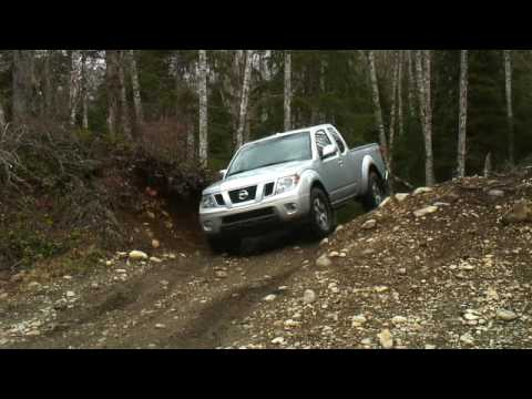 Frontier - Testing the offroad edition of Nissan's mid-sized truck line. Does it have what it takes to conquer massive puddles, perilous inclines and a large hole?