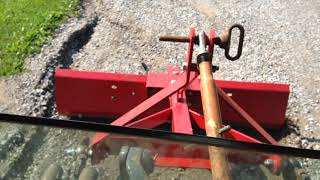 4. Grader Blade for Compact Tractor pt2
