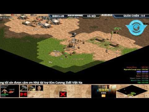 AOE Thái Bình Open 6|Vòng Quần Chiến | 4vs4 Random Máy BiBi Clud  BLV:Toạc