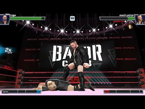 WWE Mayhem - 4 star Regular(High Flyer) Finn Balor Gameplay