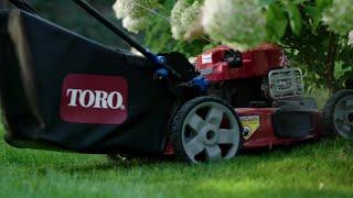 6. Self Propel in Reverse with Toro® PoweReverse® Mower