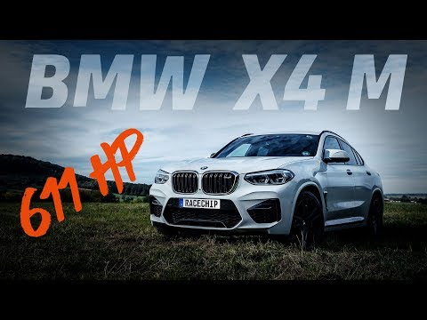 2019 BMW X4 M (F98) S58 Engine - 611 HP with RaceChip - Dyno, Sound & Acceleration 0 – 200 KM/H