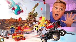 TOP SECRET SURPRISE LEGO MOVIE! LEGO Movie 2 Movie Maker Challenge!