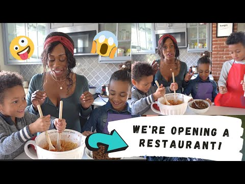 THE SECRET IS OUT!!! WE'RE OPENING A RESTAURANT!