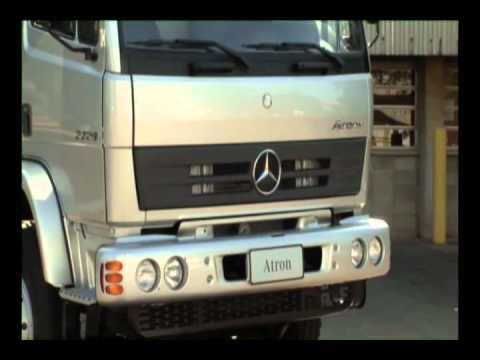 Грузовики Mercedes-Benz apresenta linha 2012