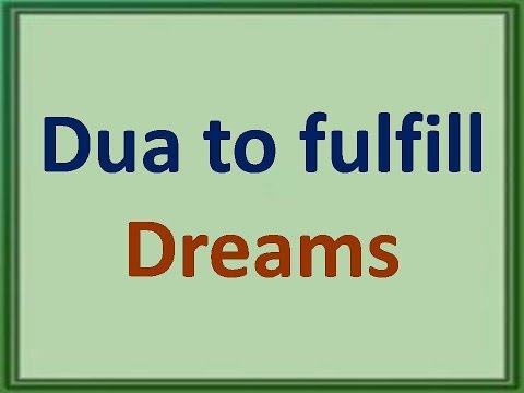 Video Dua to fulfil all your dreams in 7 Days :- 100 % Working and tested 100 Times. download in MP3, 3GP, MP4, WEBM, AVI, FLV January 2017