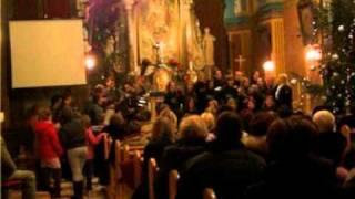 Klapa i zbor Sveta Jelena Dramalj - Božićni koncert Hreljin 20.12.2011.