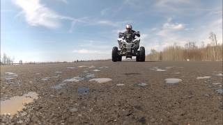 11. Yamaha Raptor 700R Insane Top Speed Fly By: HD GOPRO HERO 2