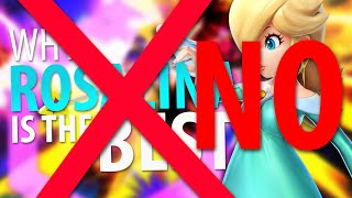 Rosalina is NOT the Best Character in Smash4