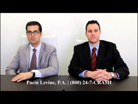 Personal Injury and Car Accident Attorney Florida – (800) 247-2727 – Pacin Levine, P.A.
