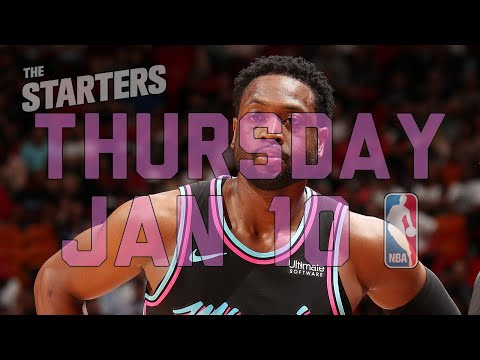 Video: NBA Daily Show: Jan. 10 - The Starters