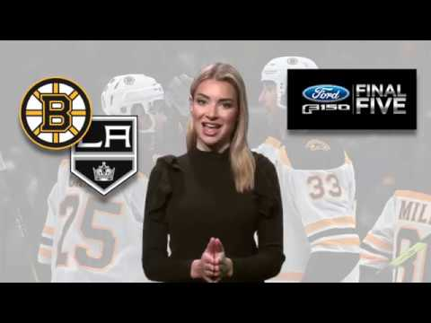 Video: Ford Final Five Facts: Tuukka Rask Carries Bruins To 5th Straight Win