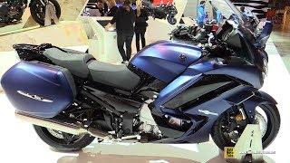 9. 2018 Yamaha FJR1300 AS - Walkaround - 2017 EICMA Milan Motorcycle Exhibition