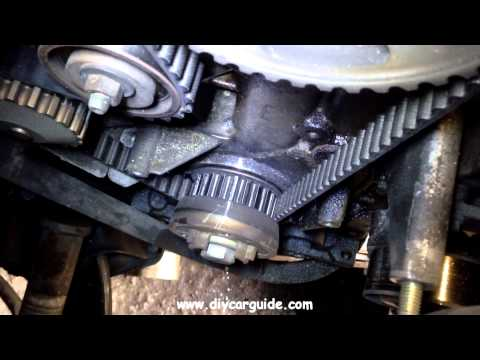 Peugot 206 Timing Belt & Water Pump Replacement