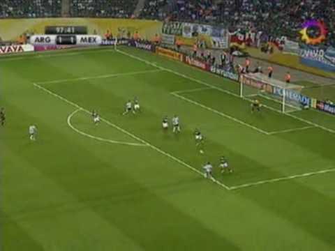 Gol contra Mexico