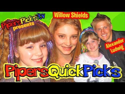 PQP #091: The HUNGER GAMES' WILLOW SHIELDS & ALEXANDER LUDWIG Interview w TWEEN REPORTER PIPER REESE!