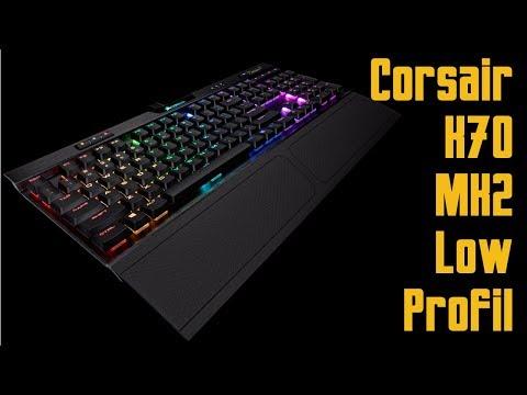 Corsair K70 RGB MK.2 Low Profile Rapidfire Clavier Mécanique Gaming (Cherry...