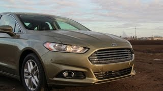 2013 Ford Fusion SE 1.6 Ecoboost Drive Review&Road Test