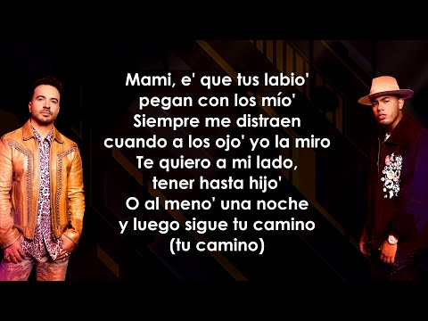 Luis Fonsi, Myke Towers - Bésame (Letra/Lyrics)