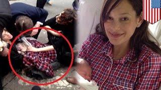 Video Wanita melahirkan di tengah persimpangan jalan raya - Tomonews MP3, 3GP, MP4, WEBM, AVI, FLV Januari 2018
