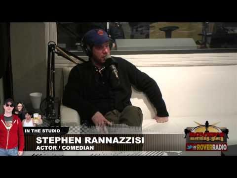 Comedian Stephen Rannazzisi Rips on Hugh Jackman's Wife