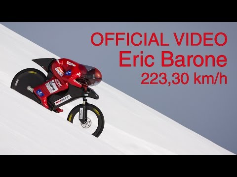Guy Does 138MPH On A Mountain Bike In French Alps