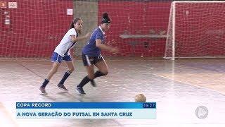 Sucesso do time de Santa Cruz do Rio Pardo na Copa Record inspira as novas gerações