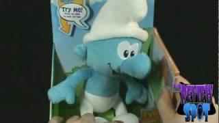 Toy Spot - The Smurfs Talking Smurf