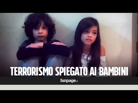 gli effetti del terrorismo sui bambini!