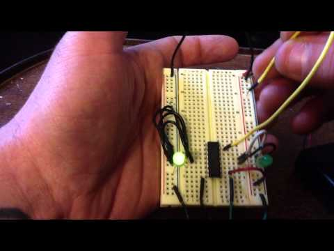 CD4516 Binary Up/Down Counter Tutorial