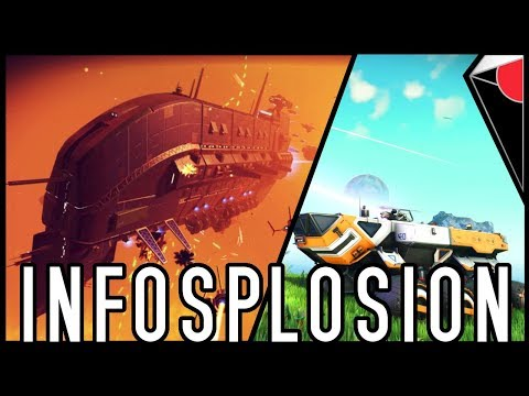 NO MAN'S SKY NEXT INFOSPLOSION   Weekly Updates + Events!   Drop-In Multiplayer!   Buried Treasure!