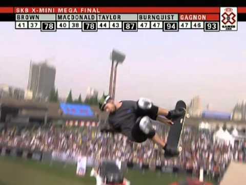 X Games Asia 2011 - Pierre Luc-Gagnon wins Skateboard Mini Mega (видео)