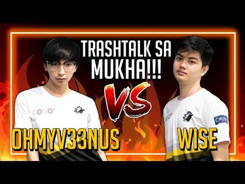 OhMyV33NUS vs WISE GAMING!!! Sinong angat? Sinong Lubog?