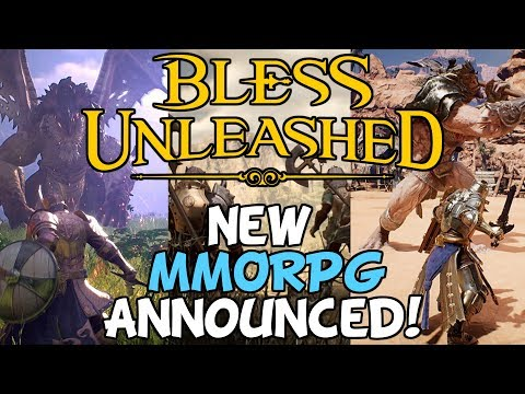 New MMORPG Announced: Bless Unleashed... WTF?