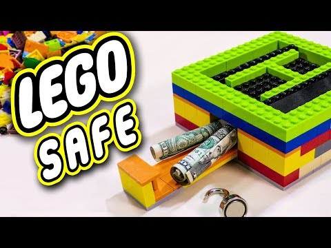 Building a safe box with legos to put things in