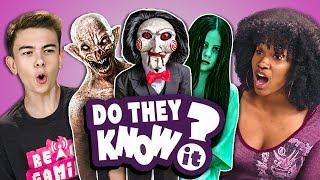 Video Do Teens Know 2000s Horror Films? (React: Do They Know It?) MP3, 3GP, MP4, WEBM, AVI, FLV Oktober 2018