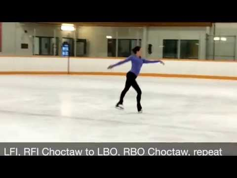 Edges 1.1 - Side to Side - Freeskate Warm Up and Foundational Edge Enhancement for Figure Skaters (видео)